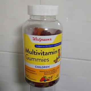 新品未開封!マルチビタミングミ 子供用 グルテンフリー(ビタミン)