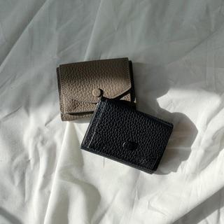 トゥデイフル(TODAYFUL)のminimal leather wallet(財布)