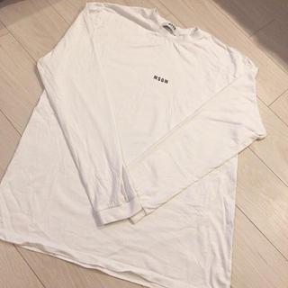 エムエスジイエム(MSGM)のMSGM トレーナー(Tシャツ/カットソー(七分/長袖))