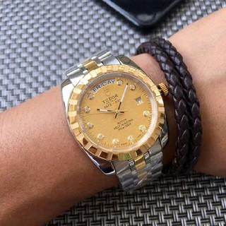 チュードル(Tudor)のTUDOR74033-62473 自動機械式 メンズ時計(腕時計(アナログ))