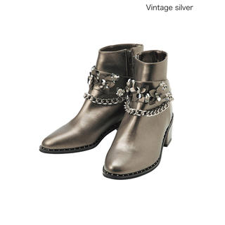 チェスティ(Chesty)のchesty 3way Short Boots Vintage silver(ブーツ)