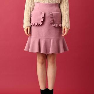 デイシー(deicy)のパッチワークポケットフリルスカート(ミニスカート)