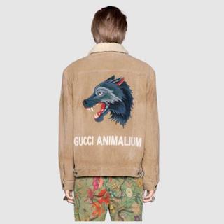 グッチ(Gucci)の新春特価 GUCCI Animalium シアリングコーデュロイジャケット 52(Gジャン/デニムジャケット)