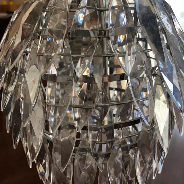Francfranc(フランフラン)の【送料込み】Francfranc シャンデリア照明 インテリア/住まい/日用品のライト/照明/LED(天井照明)の商品写真
