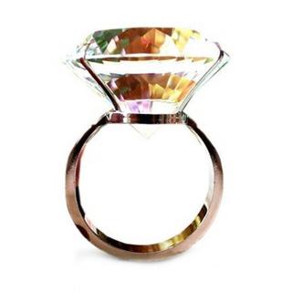 巨大リング 婚約指輪(リング(指輪))