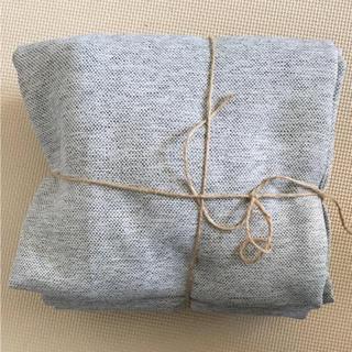 MUJI (無印良品) - 無印良品 防炎・遮光カーテン 2枚