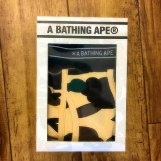 アベイシングエイプ(A BATHING APE)の【限定モデル】新品、未使用品★エイプ A BATHING APE ボクサーパンツ(ボクサーパンツ)