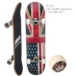 大好評☆スケートボード コンプリートセット 31インチ ABEC9ベアリング(スケートボード)