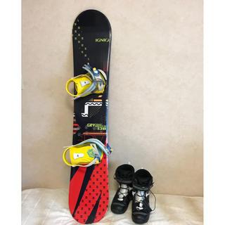 スノーボード ジュニア 板130cmとブーツ23cm(ボード)