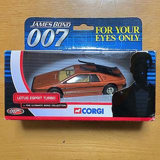 コーギ(CORGI)の007 CORGI LOTUS ESPRIT TUTBO ミニカー(ミニカー)
