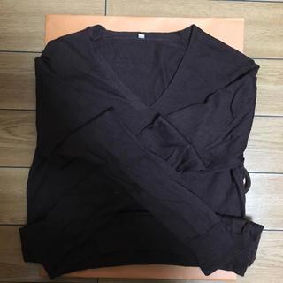 ムジルシリョウヒン(MUJI (無印良品))の無印良品 茶色 薄手ニット(ニット/セーター)