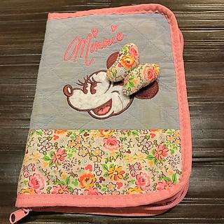 ディズニー(Disney)の母子手帳 ケース 保険証 マタニティ ポーチ ディズニーリゾート ミニー (母子手帳ケース)