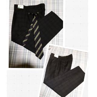 価格変更/  制服 ズボン2着 、ネクタイ、ブレザー/ベスト/セーター(追加)(スーツジャケット)