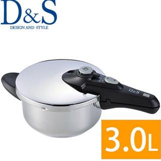 ダンスク(DANSK)の【新品未使用】DANSK ダンスクDSPC6010 圧力鍋 3.0L  レシピ付(鍋/フライパン)