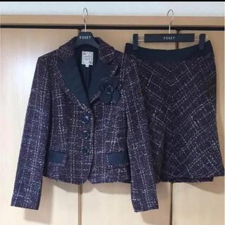 ナネットレポー(Nanette Lepore)のSALE‼️ナネットレポー   ツイードスーツ  セットアップ  冬物(スーツ)