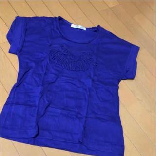 ハク(H.A.K)のハク パープル 半袖(Tシャツ(半袖/袖なし))
