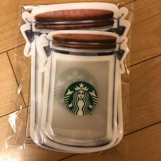 スターバックスコーヒー(Starbucks Coffee)のスタバ☆ジッパーバッグ6枚セット(ノベルティグッズ)