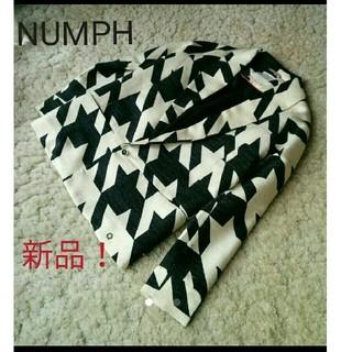 ローズバッド(ROSE BUD)の新品!NUMPH 幾何学美人ジャケット(テーラードジャケット)