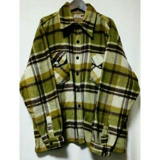ウールリッチ(WOOLRICH)のレア ビンテージ 70年代 80年代 C.P.O ウールシャツ ジャケット(ブルゾン)