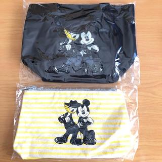 ディズニー(Disney)の入手困難!!B'z★Exhibition ディズニーランチトート&ポーチ 各1個(ミュージシャン)