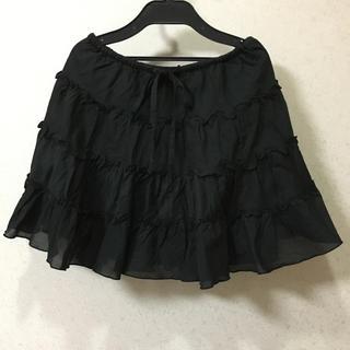 エスティークローゼット(s.t.closet)の値下げfrabjousフリルスカート(ミニスカート)
