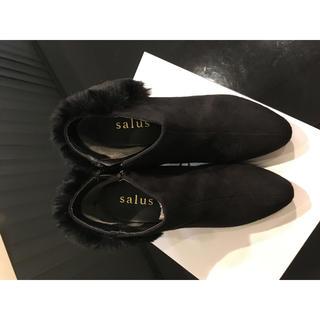 サルース(salus)のショートブーツ(ブーツ)