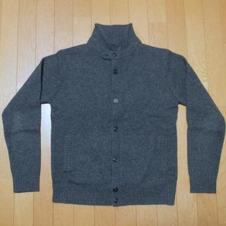 ムジルシリョウヒン(MUJI (無印良品))の無印良品 丸襟カーディガン M グレー(ニット/セーター)