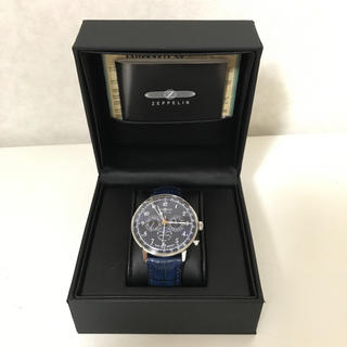 ツェッペリン(ZEPPELIN)のZEPPELIN ムーンフェイズ 7036-3 ブルー(腕時計(アナログ))