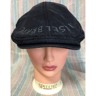 ディーゼル(DIESEL)のDIESEL ディーゼル ブラック ハンチング ベレー帽(ハンチング/ベレー帽)