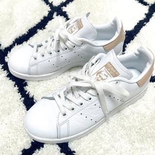 アディダス(adidas)のadidas 👟 スタンスミス ベージュ ヌーディー 23.5(スニーカー)
