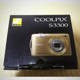ニコン(Nikon)のNIKON COOLPIX s3300 デジカメ(コンパクトデジタルカメラ)