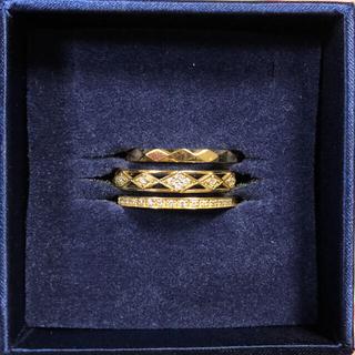 ヴァンドームアオヤマ(Vendome Aoyama)のヴァンドーム 青山 3本セット ダイヤモンドリング(リング(指輪))