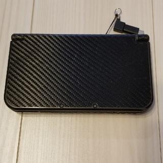 ニンテンドー3DS(ニンテンドー3DS)のなっけるさん専用 new Nintendo 3DS LL ブラック ポケモンサン(携帯用ゲーム機本体)