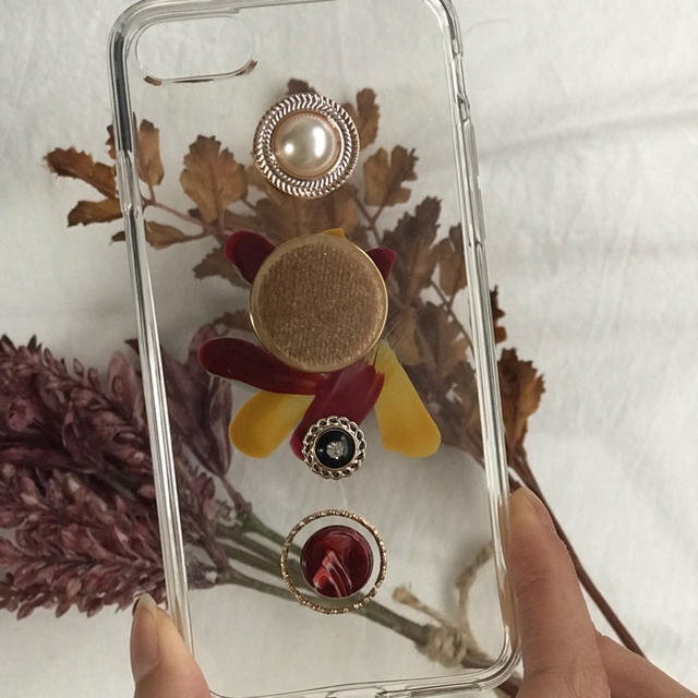 moschino iphone7 ケース 安い | niko and... - red retoro paint iPhone case handmadeの通販 by Natary'.. shop|ニコアンドならラクマ