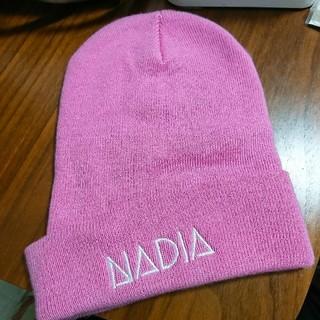 ナディア(NADIA)のニット帽(ニット帽/ビーニー)