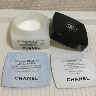 シャネル(CHANEL)のB32本物シャネルのクリームおまけ保湿美容液・日焼け止め乳液 (乳液 / ミルク)