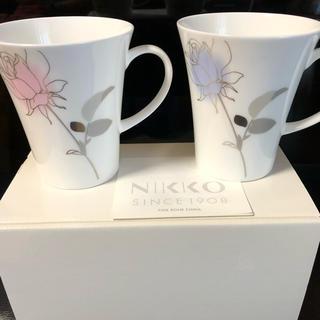 ニッコー(NIKKO)のNIKKO ペアマグカップ 新品未使用(グラス/カップ)
