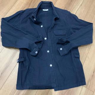 クアドロ(QUADRO)のquadro ネイビーシャツ(シャツ)