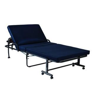 山善 高反発高脚折り畳みベッド DCM-FBKH-S(NV/SBK)(簡易ベッド/折りたたみベッド)