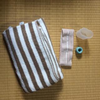 ムジルシリョウヒン(MUJI (無印良品))の中古品まとめ売り☆無印良品☆(タオル/バス用品)