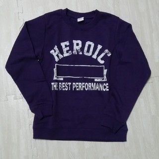 デビロック(DEVILOCK)の紫 トレーナー 140(Tシャツ/カットソー)