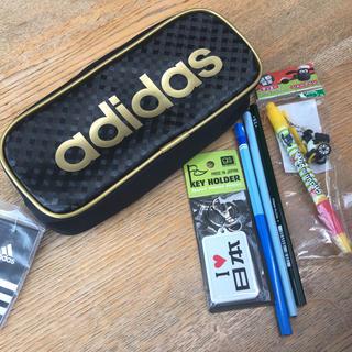 アディダス(adidas)のadidasアディダス 筆箱 おまけ付き(ペンケース/筆箱)