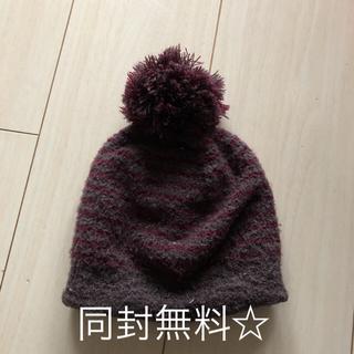 MUJI (無印良品) - ベビー ニット 帽子