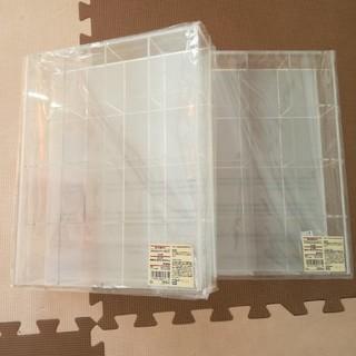 ムジルシリョウヒン(MUJI (無印良品))の新品 アクリルコレクションボックス(ケース/ボックス)