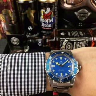チュードル(Tudor)の ★TUDOR  チュードル ブルーダイヤル 腕時計 メンズウォッチ デイト★ (腕時計(アナログ))