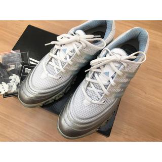 アディダス(adidas)のadidas アディダス ゴルフシューズ パワーバンド ソフトスパイク(シューズ)