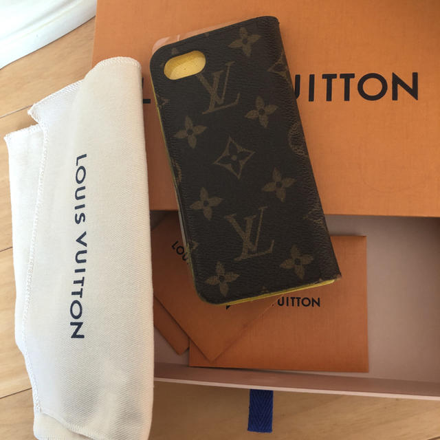 burberry アイフォーン8 ケース 本物 | LOUIS VUITTON - 確実正規品 iPhoneケース ルイヴィトン 手帳の通販 by かりん|ルイヴィトンならラクマ