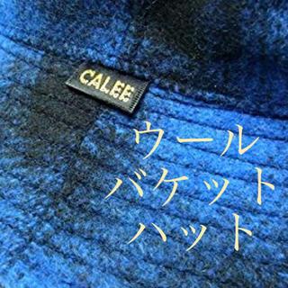 キャリー(CALEE)のCALEE ウールバケットハット 新品未使用(ハット)