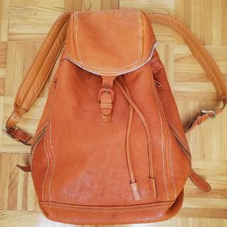 土屋鞄製造所 オイルヌメ革バッグパック リュック ブラウン
