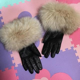 スコットクラブ(SCOT CLUB)のファー付き手袋(手袋)